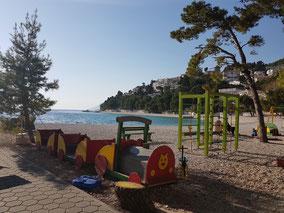 urlaub kroatien dalmatien makarska riviera familienurlaub kind kinder hotel baska voda brela