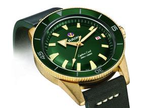 MAG Lifestyle Magazin online Uhren Armbanduhr Rado Captain Cook Bronze Hightech Keramik traditionell innovativ Luxus Schmuck