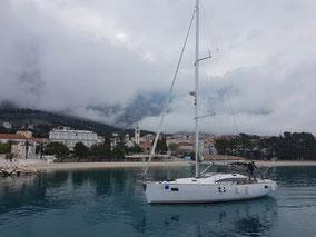 Segelurlaub in Dalmatien an der Makarska Riviera - Elan 45