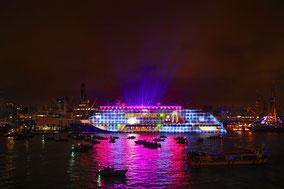 MAG Lifestyle Magazin: Kreuzfahrten: Hapag-Lloyd Cruises tauft Hanseatic inspiration, das zweite von drei neuen Expeditionsschiffen im Hafen von Hamburg