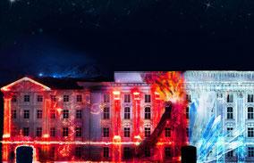 MAG Lifestyle Magazin Reisen Urlaub Reisen Österreich Tirol Innsbruck Lightshow Mount Magic Kaiser Maximilian Kaiserliche Zeitreise letzter Ritter Macht Natur Pangäa Murmeltier open air Erlebnis