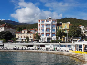 MAG Lifestyle Magazin Urlaub Reisen Kroatien Opatija Abbazia kuk Monarchie Abbazia Südbahn Hotel  Boutiquehotel Mozart Tennisspieler Ivan Ljubičić