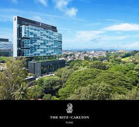 MAG Lifestyle Magazin Reisen Urlaub Fernreisen Flugreisen Ritz Carlton Pune Indien Luxushotel Luxusgastronomie