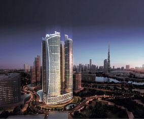 MAG Lifestyle Magazin Reisen Urlaub Fernreisen Flugreisen Avant Premiere des Paramount Hotel Dubai