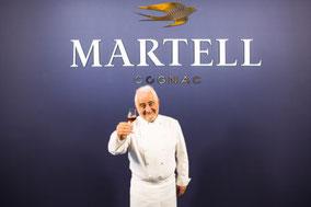 MAG Lifestile Magazin Cognac Martell Chanteloup XXO Präsentation Paris petit Palais Guy Savoy drei Sterne Koch Michelin Yoann Bourgeois