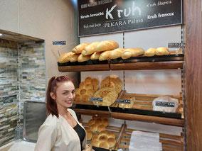 MAG Lifestyle Magazin Urlaub Reisen Kroatien Dalmatien kulinarische Speziallitäten Weissbrot bijeli, kruh Bäckerei Brotspezialitäten Weißbrot