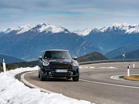 MAG Lifestyle Magazin Auto Motor Sport Mini Cooper Countryman ALL4 Reise Passtrassen Alpen Meran Spuren Kaiserin Elisabeth Sisi Österreich