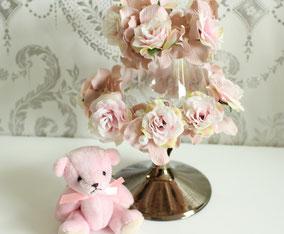 造花、アーティフィシャルフラワー、ランプ