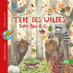 Tiere des Waldes - Bison, Bär & Co. - 4,99€