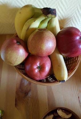 Gesunde Snacks im EnergieHeilRaum