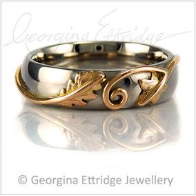 Handmade Ivy & Oak Ring