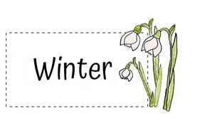 Blumenkinder für den Winter