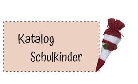 Blumenkinderwerkstatt Katalog Schulkinder