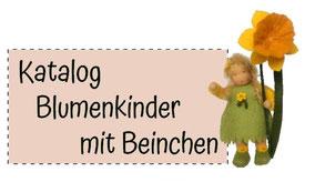 Blumenkinderwerkstatt Katalog Blumenkinder mit Beinchen