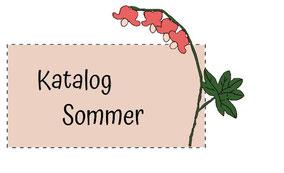Blumenkinderwerkstatt Katalog Sommer