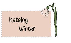 Blumenkinderwerkstatt Katalog Winter