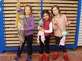 LichtwarkSchule-Kleine Künstler-Figuren
