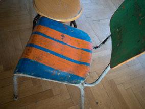 LichtwarkSchule-Stuhl. Foto: Reimar Palte