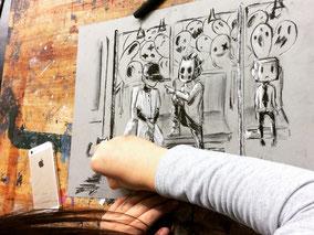LichtwarkSchule: Talentschmiede@AltonaerMuseum-Ausstellung. Foto: Reimar Palte