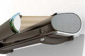 markilux 6000 mit Edelstahlgewebe Kassettenmarkise Sonnensegel