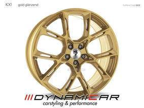 MB DESIGN KX1 GOLD GLANZ