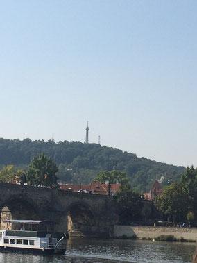 Prag, Bootstour auf der Moldau