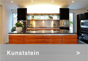 Bild: Kunststein Küchenabdeckung