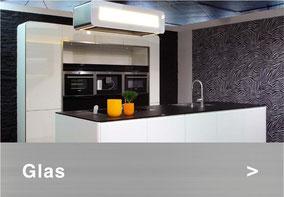 Bild: Glasabdeckung Küche