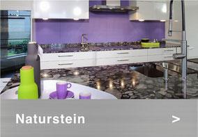 Bild: Natursteinabdeckung Küche