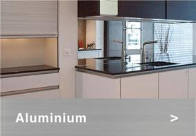 Bild: Aluminiumabdeckung Küche