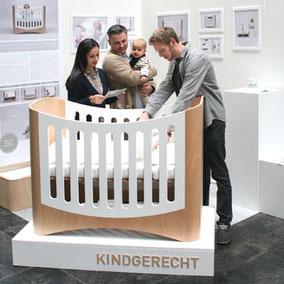 KINDGERECHT Kinderbett Messe Infalino