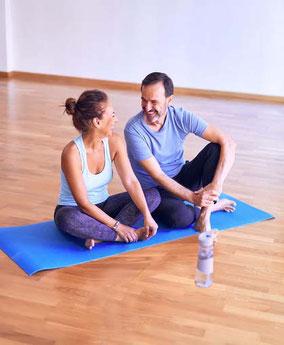 sport santé a l'association harmonie et bien-etre avec la praticienne christine videgrain