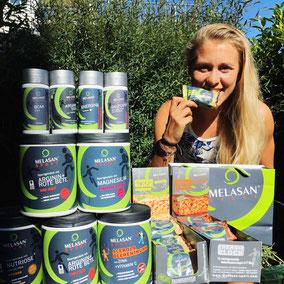 Julia Mayer Melasan Sport Elektrolyte Mineralstoffe