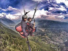 Tandemflug Vigiljoch Paragliding Meran Ippodromo