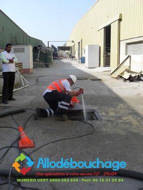 Debouchage canalisation pompe manuelle Montpellier