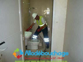Debouchage wc Aubagne urgent