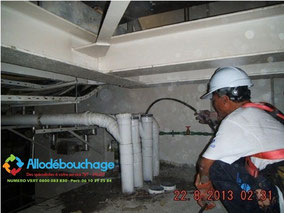 Debouchage canalisation curage 26 Valence