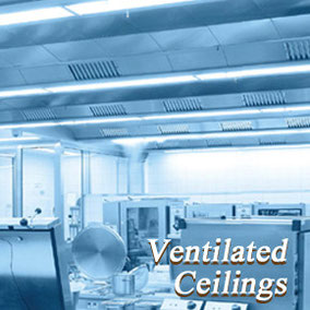 HALTON Ventilated Ceilings : 換気天井システム