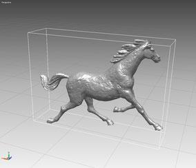 Scan 3D de un modelo de Caballo