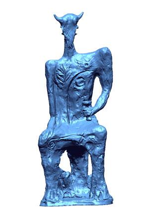 Modelo 3D de Escultura