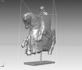 Scan Modelo de Caballero montado