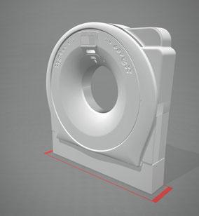 Modelado 3D de un TAC, para realizar un Ficticio Ferial a tamaño natural