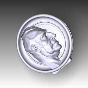 Modelo de Medallón para ampliación