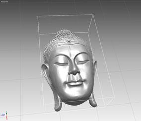 Modelo 3D de un Buda