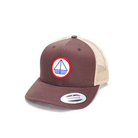 CASQUETTE - TRUCKER MARRON