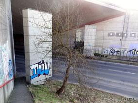 Erbstorfer Kanalbrücke mit Sprengtürmen