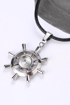 Christlicher-Schmuck-Halskette-Steuerrad