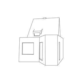 Pikto Perspektive Haus Handick in Neukirchen-Vluyn Tag der Architektur