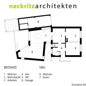 Grundriss Haus Handick in Neukirchen-Vluyn Tag der Architektur