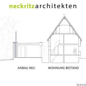 Schnitt Haus Handick in Neukirchen-Vluyn Tag der Architektur